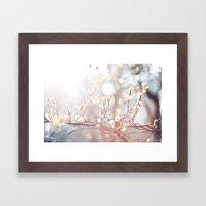 Lichtertanz Framed Art Print