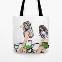 SKATER GIRLS - PART 2 - THE GIRLS Tote Bag