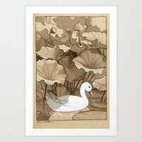 The Duck Art Print
