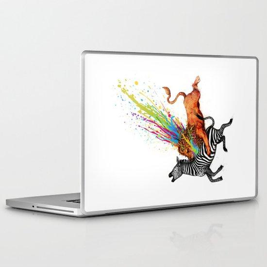 Kill Monotony Laptop & iPad Skin