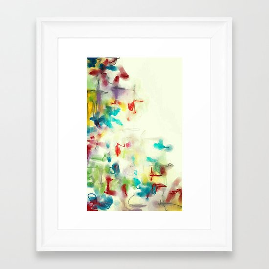 Composition 1816 Framed Art Print
