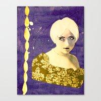 Victorian Purple Canvas Print