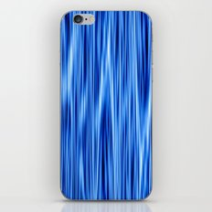 Ambient #8 in blue iPhone & iPod Skin