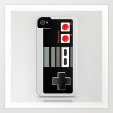 Classic Retro Nintendo G… Art Print