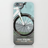 iPhone & iPod Case featuring Giro d'Italia Bike by Wyatt Design