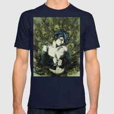 Black Pea Mens Fitted Tee Navy SMALL