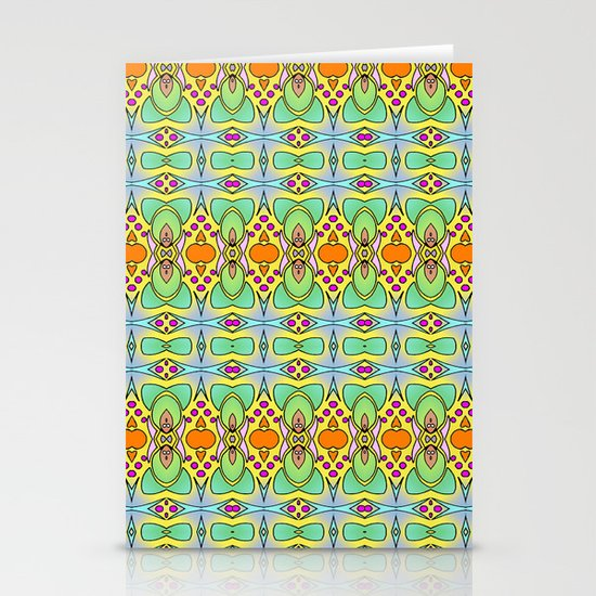 Bananas, Tangerines and Pistache! Stationery Card