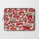 red roofs Laptop Sleeve