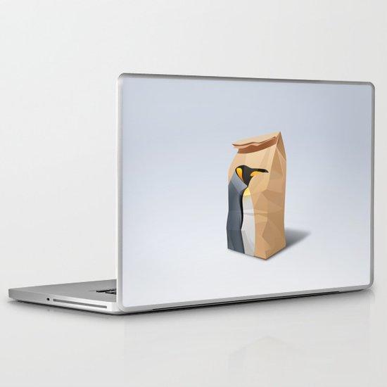 King Penguin Laptop & iPad Skin