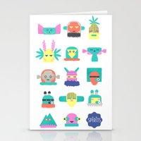 Assembly Of Spirits  Stationery Cards