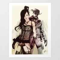 WWest Art Print