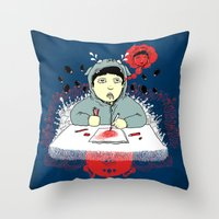 Creative Blank Throw Pillow