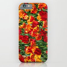 Field of Spring Tulips iPhone 6s Slim Case