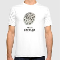 my own paranoia Mens Fitted Tee White SMALL