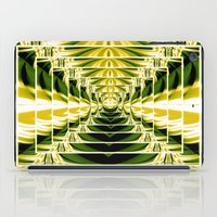 Abstract.Green,Yellow,Bl… iPad Case