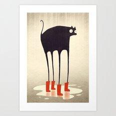 Wellies! Art Print