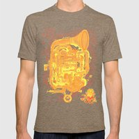 Instrument A Mens Fitted Tee Tri-Coffee SMALL