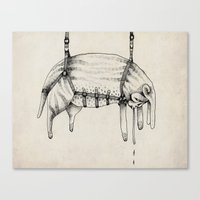 Hanging Thing Canvas Print