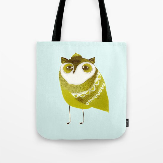 Golden Owl illustration  Tote Bag