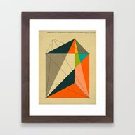 DISSECTION OF THE TRIANG… Framed Art Print