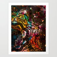 The Many Rants Of Charli… Art Print