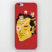 Quentin iPhone & iPod Skin