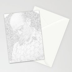 [De]generated ArcFace - Hunter S. Thompson Stationery Cards