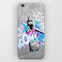 Girl Power iPhone & iPod Skin
