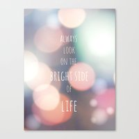 THE BRIGHT SIDE Canvas Print