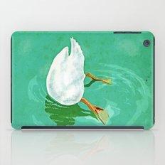Duck diving iPad Case