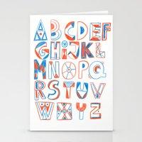 PlayFull Alphabet Stationery Cards