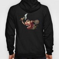Knubby The Dwarf Fights … Hoody