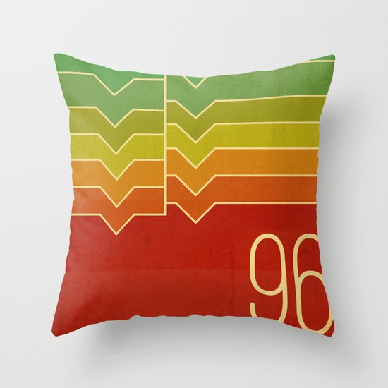 Nineteen ninety six Throw Pillow