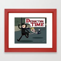 Deduction Time! Framed Art Print