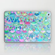 Art Deco Watercolor Patc… Laptop & iPad Skin