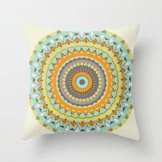 Mardi Gras Spin Throw Pillow