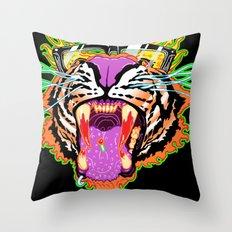 Tyger Style Throw Pillow