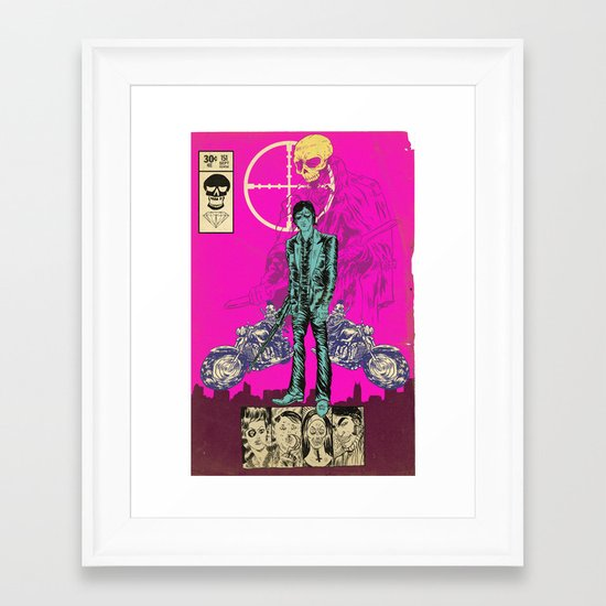 THE MAN FROM OSAKA Framed Art Print