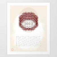 Ash & Anchor 2012 Calend… Art Print
