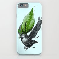 iPhone & iPod Case featuring The Messenger by nicebleed