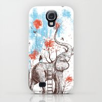 Galaxy S4 Cases featuring A Happy Place by Norman Duenas