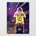 Space hugs Canvas Print