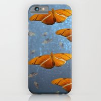 iPhone & iPod Case featuring Flutter by The ShutterbugEye