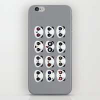 Panda faces iPhone & iPod Skin