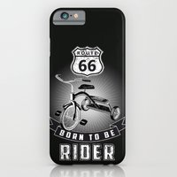iPhone & iPod Case featuring born to be rider by mauro mondin