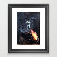 cosmonaut... Framed Art Print