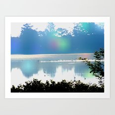 skye lake Art Print