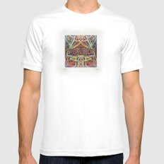 Popouoi Knox SMALL Mens Fitted Tee White