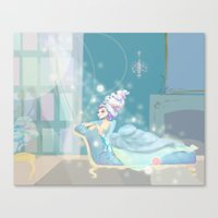 Queen Marie Antoinette - France Canvas Print