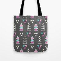 Mystic Triangles Tote Bag